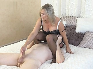 milf stockings straight films